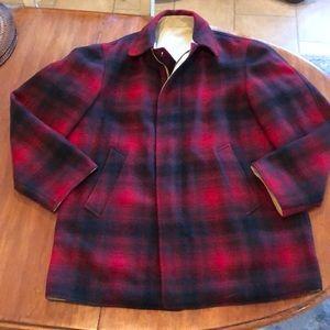 Vintage Pendleton Reversible Wool Plaid Jacket